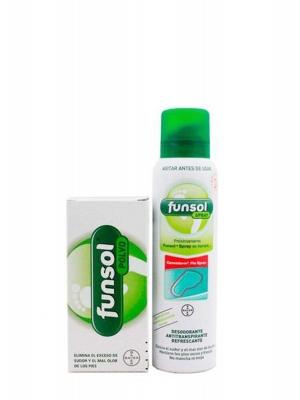 Funsol polvo 60gr + funsol spray 150 ml