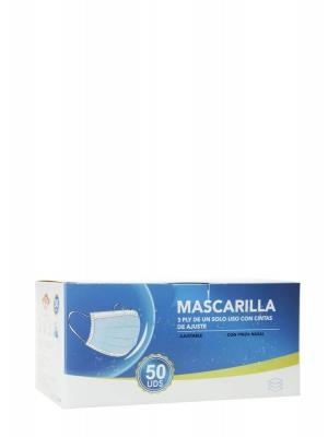 Mascarilla quirúrgica caja 50 unidades