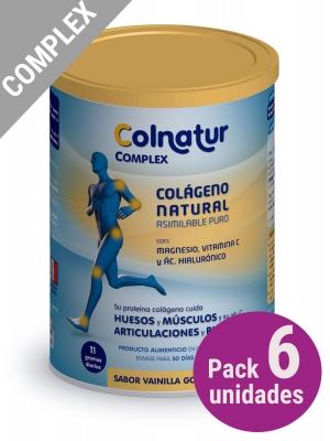 Pack 6 unidades colnatur complex vainilla gourmet