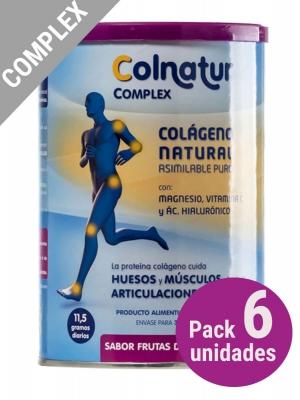 Pack 6 unidades colnatur® complex sabor frutas bosque