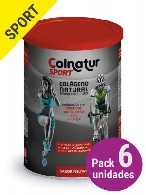 Pack 6 unidades colnatur® sport neutro