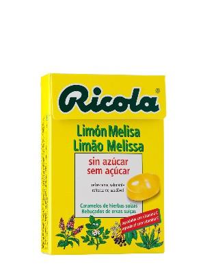 Caramelos de limón melisa de ricola 50g