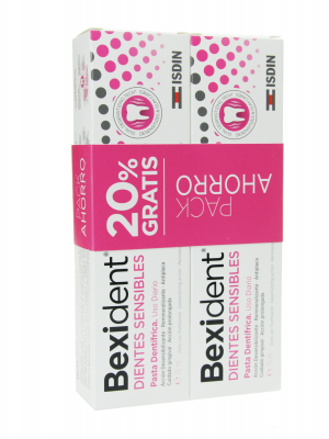 Bexident pasta dientes sensibles duplo 2x75 ml