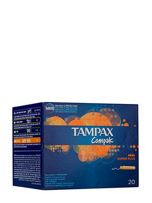 Tampax compak superplus 20 unidades