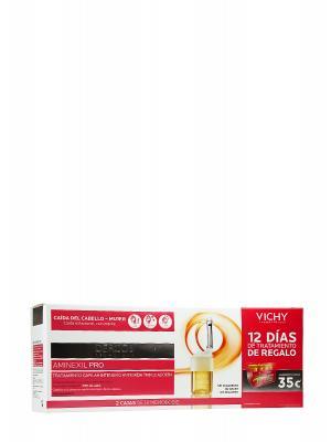 Dercos aminexil pro vichy pack 2 u mujer + 12 días tratamiento gratis