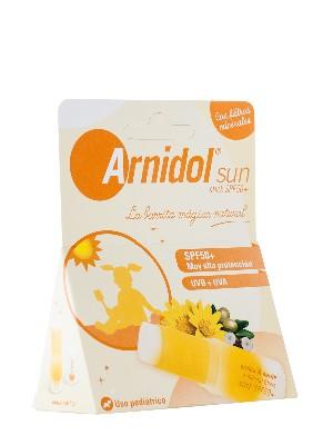 Arnidol sun stick con factor de protección 50+