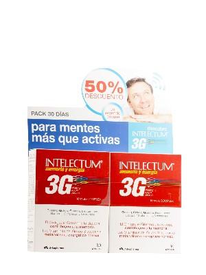 Intelectum 3g memoria y energía de arkopharma, 2 envases de 30 cápsulas
