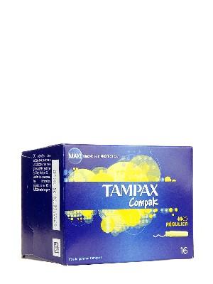 Tampax compak regular 16 unidades