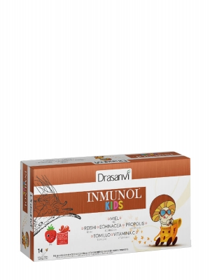 Drasanvi inmunol kids 14 viales sabor fresa