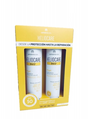 Heliocare 360º duplo airgel spf 50 2x200ml