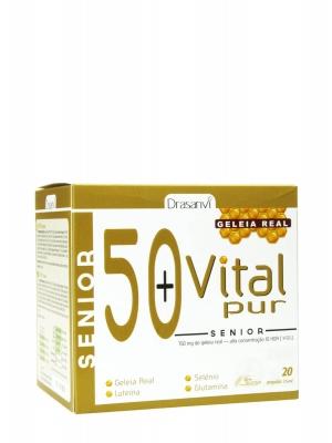 Drasanvi vital pur senior 20 viales