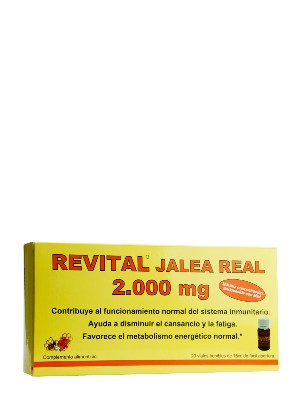 Revital jalea real 2000 mg 20 viales