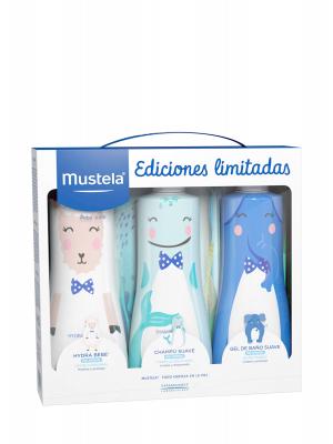 Mustela pack edición limitada hydra bebé,champú y gel suave