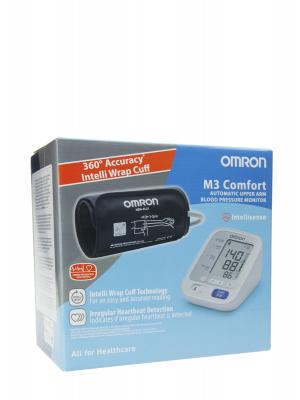 Omron tensiómetro m3 comfort de brazo con monitor de medición