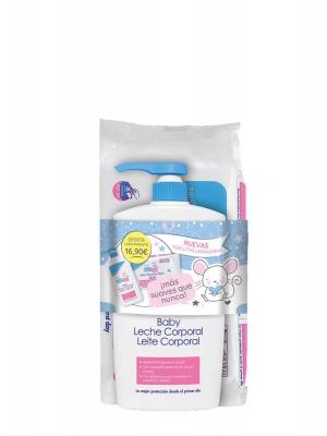 Sebamed baby pack lanzamiento leche corporal + toallitas