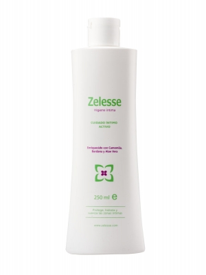 Zelesse solución limpiadora higiene íntima 250 ml