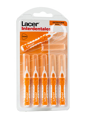 Lacer cepillo interdental extrafino y suave 6 unidades