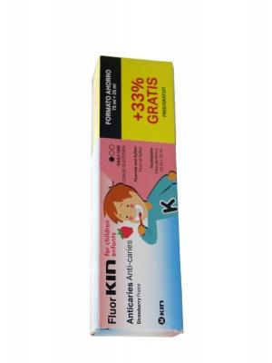 Fluor kin infantil pasta dental fresa 75