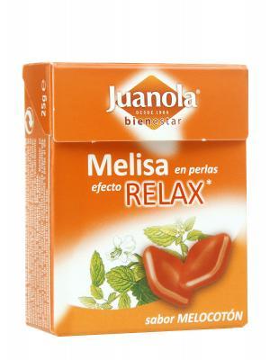 Perlas relax sabor melocotón de juanola
