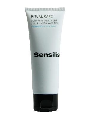 Sensilis 2 en 1 purificante de mascarilla y exol ritual