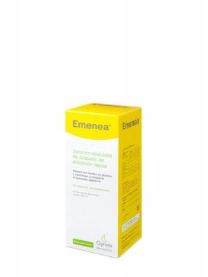 Emenea jarabe simple aromatizado sabor lima-limón 250 ml