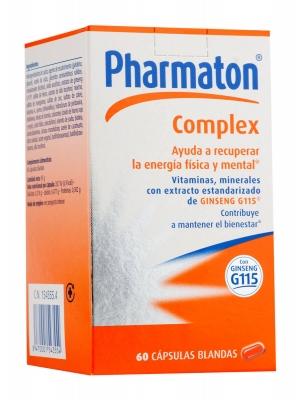 Pharmaton complex 60 capsulas