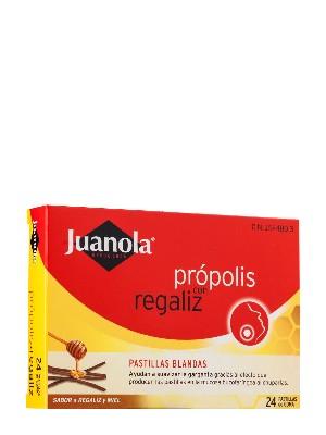 Juanola pastillas blandas propolis 48 gr