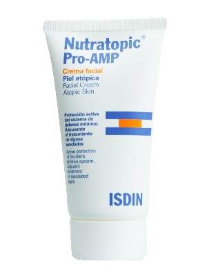 Nutratopic pro amp crema facial piel atópica 50 ml