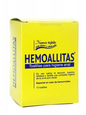 Hemoallitas higiene anal 10 toallitas