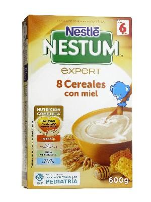 Nestle pap  8 cereales miel 500 gr