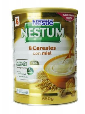 Nestle nestum 8 cereales miel 500 gr