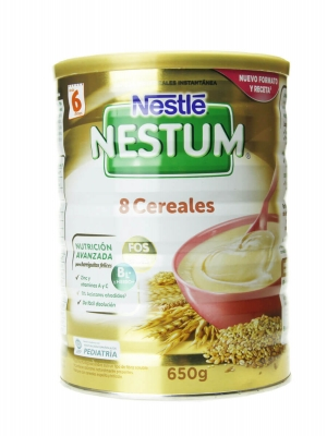 Nestle nestum papilla 8 cereales 650 gr