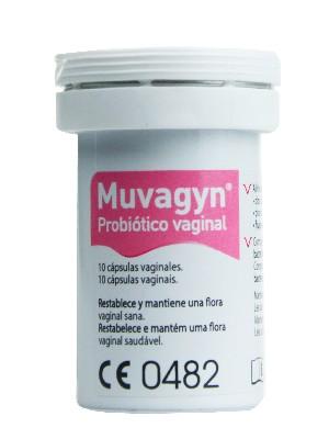 Probiótico vaginal muvagyn 10 cápsulas vaginales