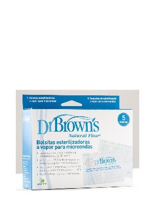 Bolsas esterilización vapor dr brown 5 unidades