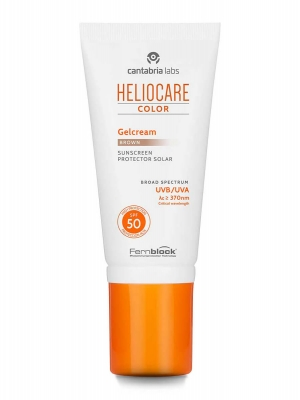 Heliocare gel crema color  brown spf 50 50 ml