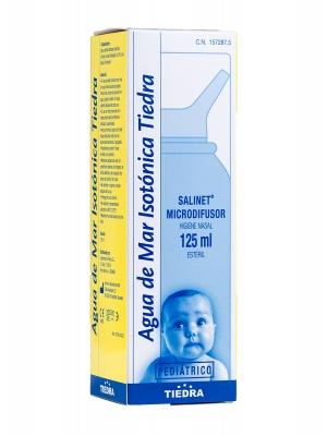 Agua de mar isotónica salinet microdifusor pediatrico 125 ml