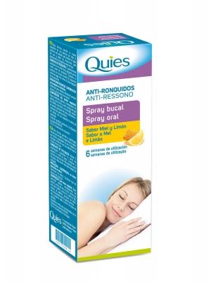 Deiters quies spray bucal antirronquidos miel y limón 70 ml