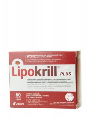 Deiters lipokrill plus 60 cápsulas