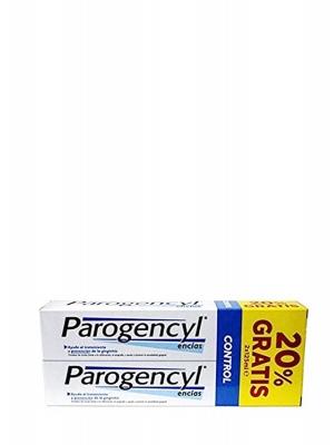 Pack ahorro parogencyl control pasta dental duplo 125  ml 2 unidades