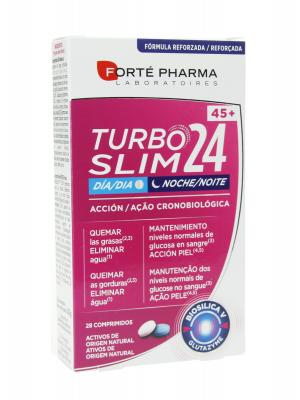 Turboslim cronoactive forte 45+ 28 comprimidos