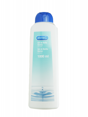 Alvita gel de baño dermo 1000 ml
