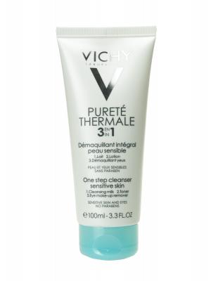 Vichy pureté thermale desmaquillante 3 en 1 100ml
