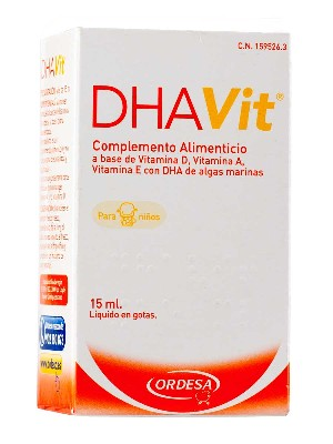 Dhavit vitaminas para niños