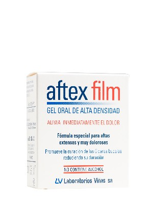 Gel oral de alta densidad aftex film, 10 ml