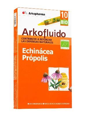 Echinácea + própolis arkofluido, 10 ampollas