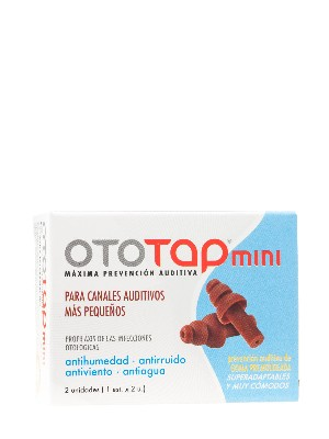 Tapone oidos oto-tap mini goma
