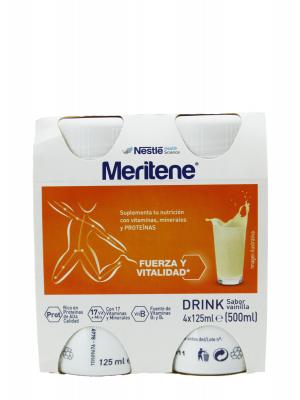 Meritene activ sabor vainilla 4x125ml