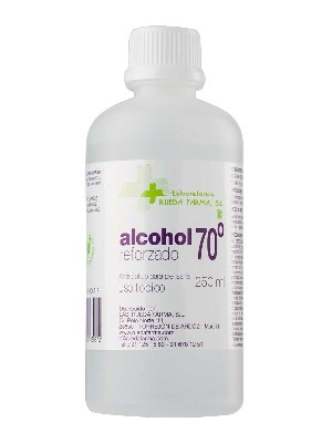Rueda farma  alcohol 70º 250 ml