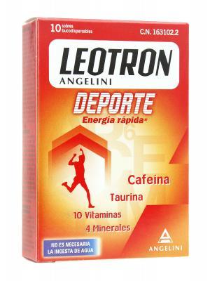 Leotron deporte fast energy sobres10 s