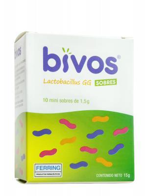 Lactobacillus en sobres bivos 10 minisobres de 1.5g
